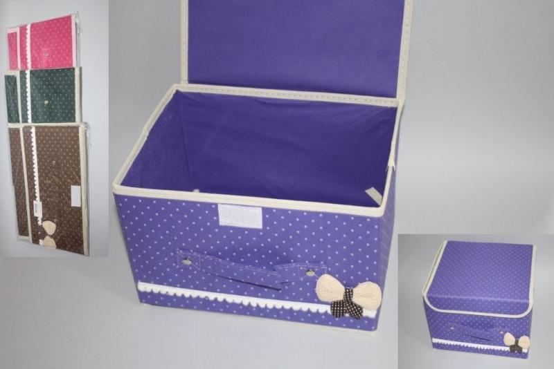 Kutija platnena na sklapanje 39x25x24cm CH9318