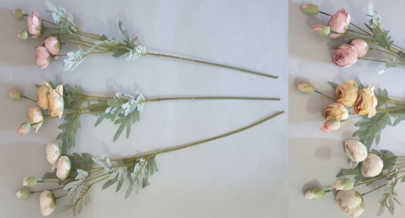 Cvijeće umjetno božur 81cm   CH60506