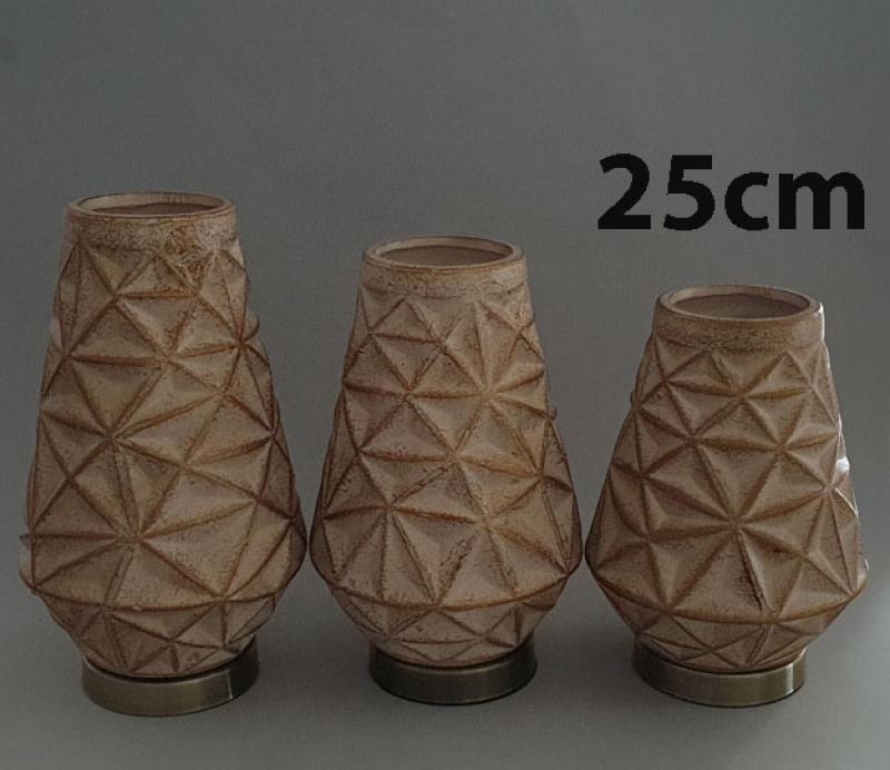 Vaza dekorativna 25x15cm CH60636