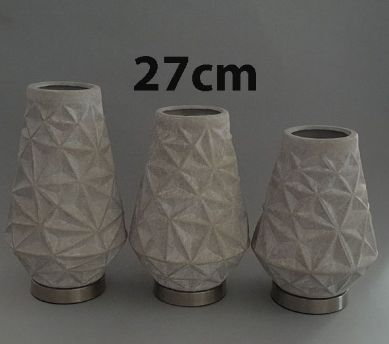 Vaza dekorativna 27x15cm CH60638