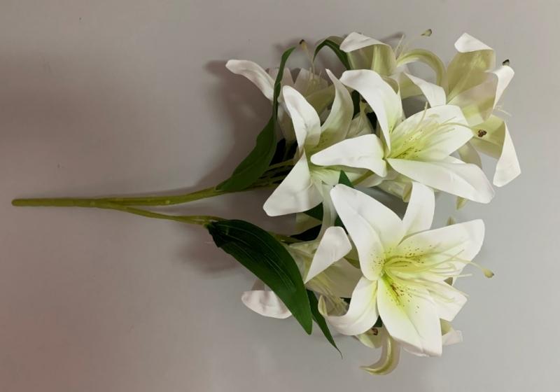 Cvijeće umjetno buket 10 ljiljana 60cm CH60667