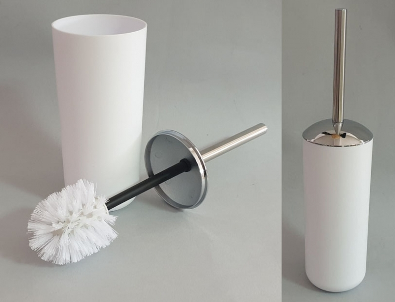 Posuda i četka za WC šolju Sanitary ware's window 38x10cm bijela CH6288