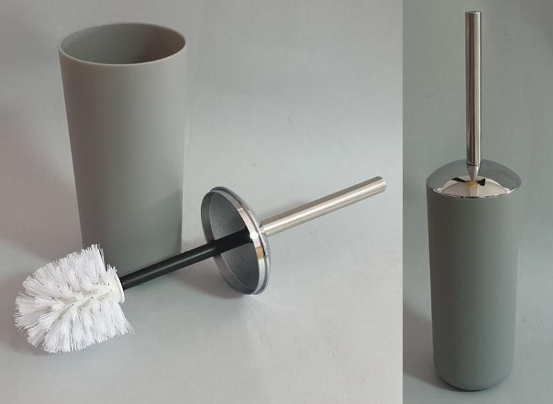 Posuda i četka za WC šolju Sanitary ware's window 38x10cm siva  CH6291