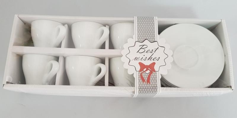 Šoljice keramičke za kavu 6/1   JU32918