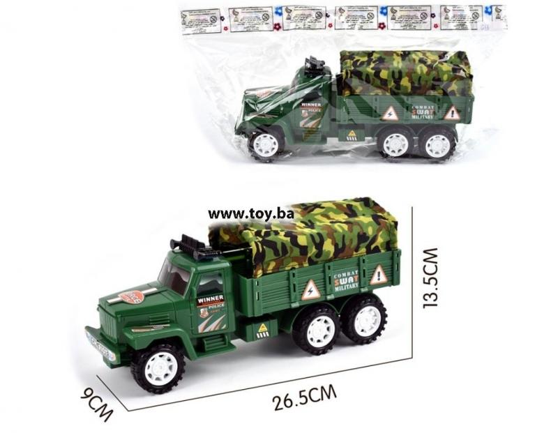 Igračka vojni kamion 26x8x12cm  MK26798