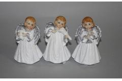 Figura anđeo keramički 11cm CH54225