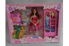 Igračka lutka s odjećom CH60145