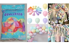 Baloni pastelnih boja 100/1 CH6846