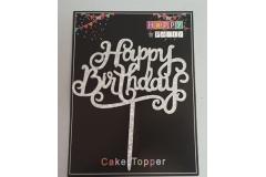 Rođendanska dekoracija za tortu  16,5x14,5cm   CH60287