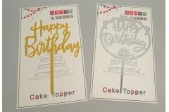 Rođendanska dekoracija toper za tortu 16x10,5cm   CH60287