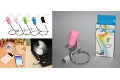 Ventilator mini sa USB priključkom fleksibilni  CH54969  -30%