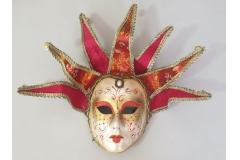 Venecijanska maska 35x20cm ,crvena  CH60461-A