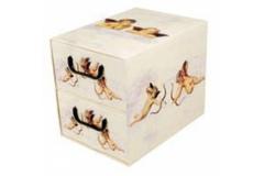 Kutija karton 2 ladice 25,5x29x35,5cm   MS87110
