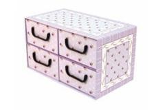 Kutija karton 4 ladice 44x25x25cm MS87703