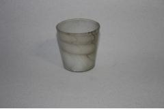 Svijećnjak - čaša stakleni  7,5x5,5cm  OW47753