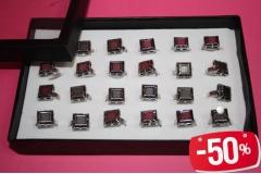 Prsten kockasti CH2296-B  -50%