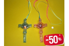 Svijetleća figura na lančiću,križ CH2397-D  -50%