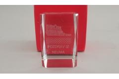 Kristal+stalak NEUM 7,8x4cm CH2994