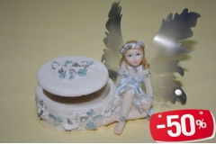 Kutija s anđelom B0520 5,5x8cm CH3991  -50%