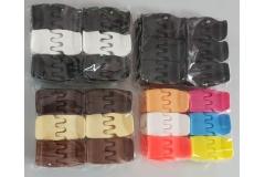 Kopča za kosu  PVC   3,5cm  12/1  CH49311