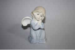 Figura keramička anđeo kleči  13,5x10cm  CH50921
