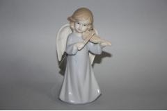 Figura keramička anđeo svira   15,5x8,5cm   CH50923