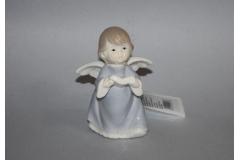 Figura keramička anđeo sa knjigom  10x7,5cm   CH50927