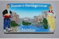 Suvenir magnet Mostar   CH52085