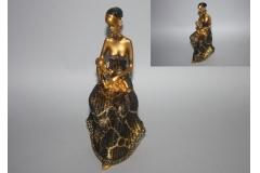 Figura tamnoputa djevojka   23x11cm  CH52113