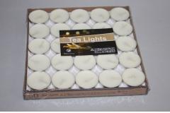 Svijeće lučice 50/1 bijele  CH52173