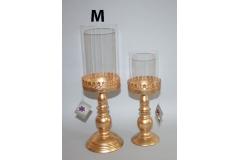 Svijećnjak  stolni  zlatni 41cm   CH52419