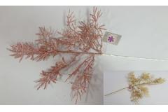 Grančica novogodišnja 51cm (OSTALA SAMO ROZA)  CH53170