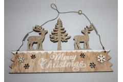 Dekoracija  Božićna  viseća   18x23cm    CH53262