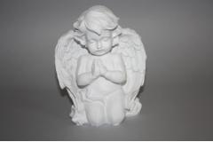 Figura anđeo  kleči  16cm   CH54208