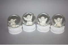 Figura anđeo  u vodenoj kugli   6x8cm   CH54213