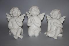 Figura anđeo  sjedi  16cm   CH54377