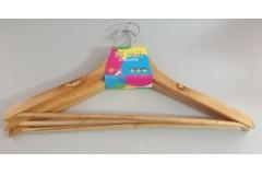 Vješalice za odjeću drvene 3/1 43cm  CH55139