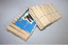 Kvačice za rublje   drvene  9cm  24/1   CH55177