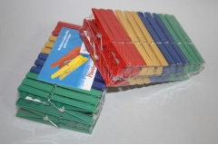 Kvačice za rublje PVC  9,5cm  24/1   CH55179