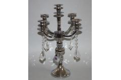Svijećnjak stolni metalni sa ukrasima , 5 svijeća   42x31cm   CH55603