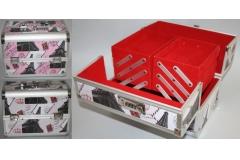 Kovčeg metalni za šminku  16,5x25x26cm  CH57428