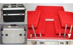 Kovčeg metalni za šminku  24x25x37cm   CH57433
