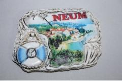 Magnet za frižider suvenir  NEUM  Z2   8x5,5cm  CH57532