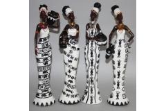 Figura afrikanka  33,5cm , 4 modela CH57610