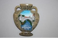 Suvenir magnet Mostar  amfora  6,5x8cm    CH57640