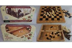 Društvena igra šah 34x16,5x5cm  CH60022