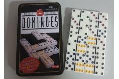 Društvena igra domino u metalnoj kutiji  19x11,5x3,5cm  CH60024