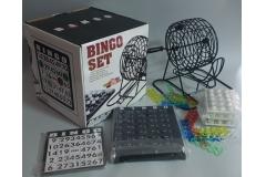 Društvena igra bingo set  21x21x21cm  CH60025