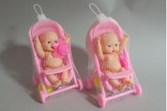 Igračka mini beba u kolicima   CH60114
