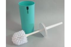 Posuda i četka za WC šolju Sanitary ware's window  37x8,5cm, mentol zelena    CH60217